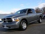 2010 Mineral Gray Metallic Dodge Ram 1500 SLT Quad Cab 4x4 #41631586