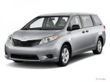 2011 Salsa Red Pearl Toyota Sienna LE #41632197