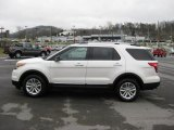 2011 White Platinum Tri-Coat Ford Explorer XLT 4WD #41631426