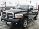 2006 Patriot Blue Pearl Dodge Ram 1500 Laramie Quad Cab 4x4 #41632410