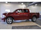 2011 Deep Cherry Red Crystal Pearl Dodge Ram 1500 Sport Crew Cab #41631698