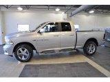 2011 Bright Silver Metallic Dodge Ram 1500 Sport Quad Cab 4x4 #41631699