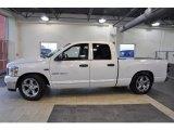 2007 Bright White Dodge Ram 1500 ST Quad Cab #41631704
