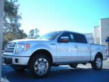 2010 Ingot Silver Metallic Ford F150 Platinum SuperCrew 4x4 #41631501