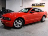 2007 Torch Red Ford Mustang GT Premium Convertible #41631529