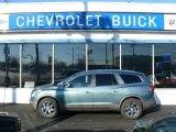 2010 Silver Green Metallic Buick Enclave CXL AWD #41631531