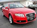 2008 Brilliant Red Audi A4 2.0T quattro S-Line Sedan #41632001