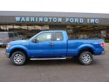 2011 Blue Flame Metallic Ford F150 XLT SuperCab 4x4 #41631786