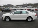2011 White Suede Ford Fusion SE #41700765