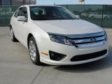 2011 White Platinum Tri-Coat Ford Fusion SE #41700911
