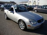 1998 Mercedes-Benz SLK Brilliant Silver Metallic