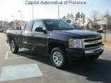 2011 Imperial Blue Metallic Chevrolet Silverado 1500 LS Extended Cab #41701155