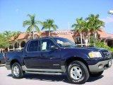 2002 Deep Wedgewood Blue Metallic Ford Explorer Sport Trac  #41700823