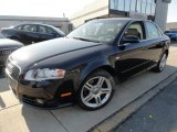 2008 Deep Sea Blue Pearl Effect Audi A4 2.0T Sedan #41700886