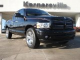 2004 Black Dodge Ram 1500 Laramie Quad Cab #41701032