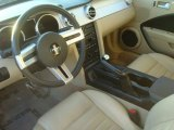 2006 Ford Mustang GT Premium Coupe Light Parchment Interior