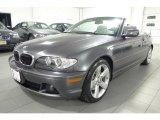 2005 Sparkling Graphite Metallic BMW 3 Series 325i Convertible #41700750
