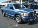 2006 Atlantic Blue Pearl Dodge Ram 1500 Laramie Quad Cab #41734432