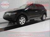 2009 Super Black Nissan Murano SL #41742659