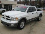 2010 Stone White Dodge Ram 1500 TRX Quad Cab #41743370