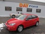 2003 Infra-Red Ford Focus ZX5 Hatchback #41743156