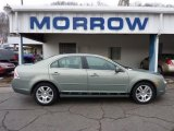 2009 Moss Green Metallic Ford Fusion SEL V6 #41743169