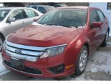 2011 Red Candy Metallic Ford Fusion SE #41743562