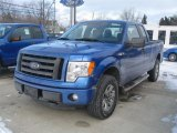 2011 Blue Flame Metallic Ford F150 STX SuperCab 4x4 #41743564