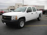 2011 Summit White Chevrolet Silverado 1500 Crew Cab 4x4 #41743377