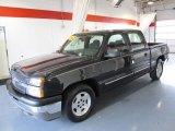 2005 Black Chevrolet Silverado 1500 LS Crew Cab #41743020