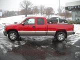 Victory Red Chevrolet Silverado 1500 in 2001