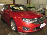 2010 Sangria Red Metallic Ford Fusion Sport AWD #41743652