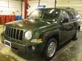 2007 Jeep Green Metallic Jeep Patriot Sport 4x4 #41743653