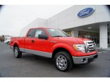 2011 Race Red Ford F150 XLT SuperCab #41790855