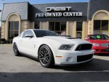 2011 Performance White Ford Mustang Shelby GT500 SVT Performance Package Coupe #41791360