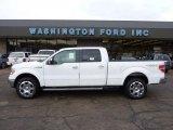 2011 Oxford White Ford F150 Lariat SuperCrew 4x4 #41791177