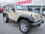 2011 Sahara Tan Jeep Wrangler Rubicon 4x4 #41790945