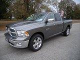 2010 Mineral Gray Metallic Dodge Ram 1500 Big Horn Quad Cab 4x4 #41790724