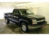 2003 Black Chevrolet Silverado 1500 Regular Cab 4x4 #41790958