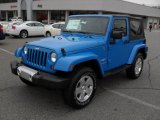 2011 Cosmos Blue Jeep Wrangler Sahara 4x4 #41791487