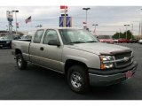 2003 Light Pewter Metallic Chevrolet Silverado 1500 Extended Cab 4x4 #41790982