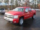 2011 Victory Red Chevrolet Silverado 1500 LT Crew Cab #41791510