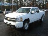2011 Summit White Chevrolet Silverado 1500 LTZ Crew Cab 4x4 #41791511