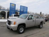 2007 Silver Birch Metallic GMC Sierra 2500HD Regular Cab 4x4 #41790788
