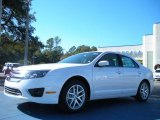 2011 White Platinum Tri-Coat Ford Fusion SEL V6 #41790801