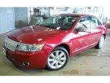 2008 Vivid Red Metallic Lincoln MKZ AWD Sedan #41790814