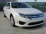 2011 White Platinum Tri-Coat Ford Fusion SEL #41791052