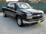 2004 Black Chevrolet Silverado 1500 LS Extended Cab #41791056