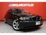 2005 Jet Black BMW 3 Series 325i Sedan #41791313