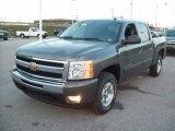 2011 Chevrolet Silverado 1500 Steel Green Metallic
